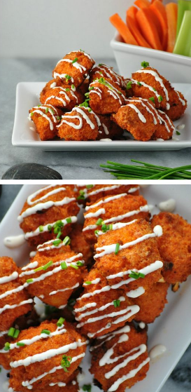 VEGAN BUFFALO CAULIFLOWER