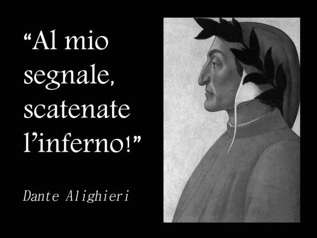 Dante Alighieri Inferno Citazioni E Frasi Improbabili Dei