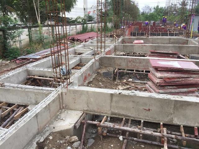 ก่อสร้างอพาร์ทเม้นท์ 4 ชั้น