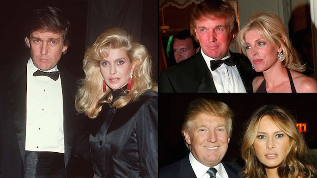 Donald Trump supermodel wives