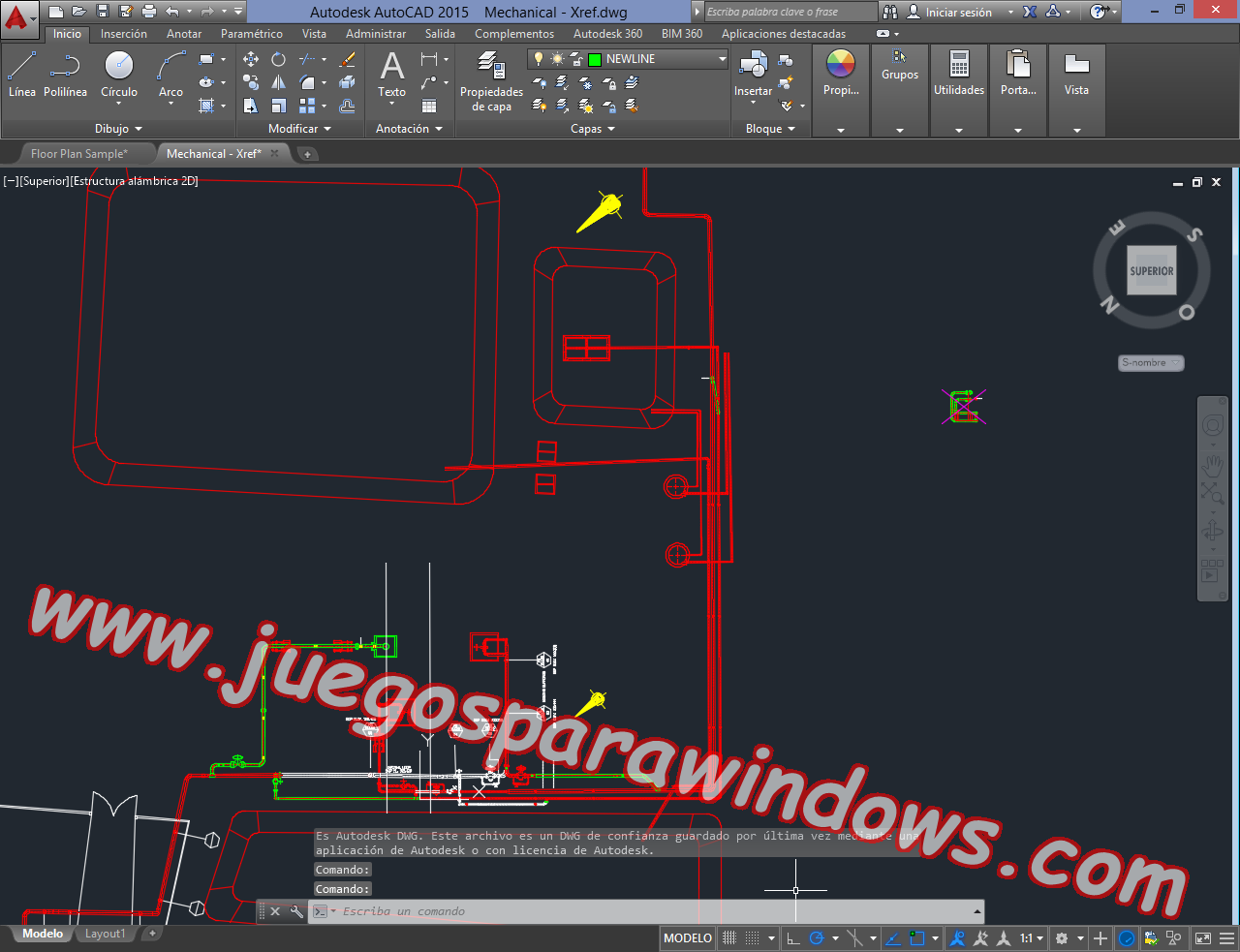 AutoCAD 2015 Full PC ESPAÑOL INGLES 32 y 64 Bits (XFORCE) 13