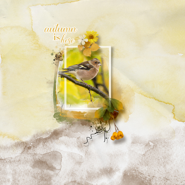 autumn is here © sylvia • sro 2018 • autum chants by prelestnayaP designs & tiramisu design