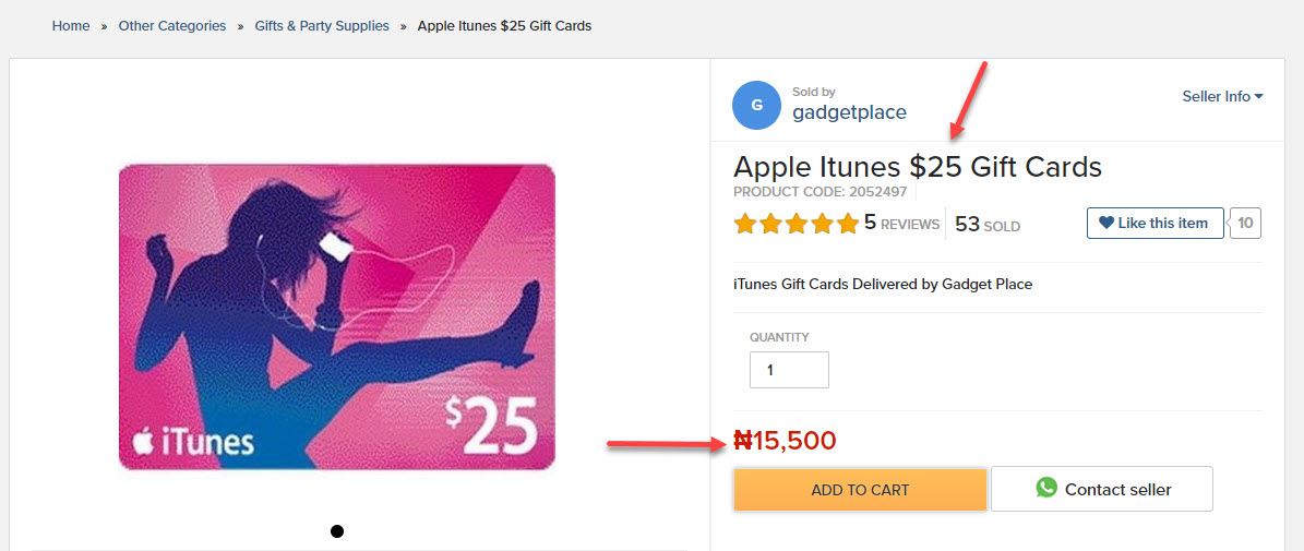 how to buy itunes card in india