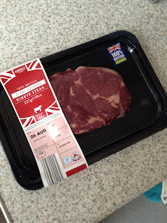Aldi 21 Day Matured Ribeye Steak