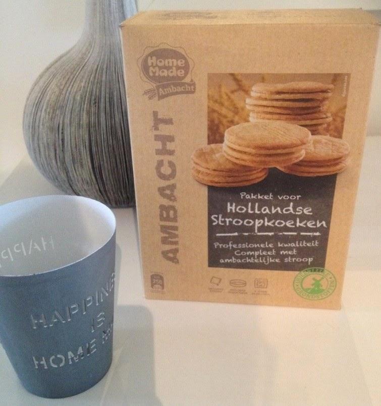 Homemade pakket voor Hollandse stroopkoeken