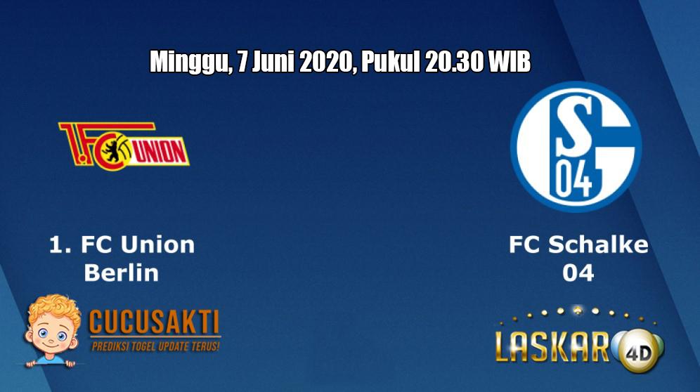 Prediksi Union Berlin vs Schalke 04 7 Juni 2020