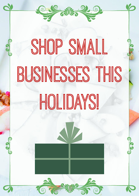 Shop Small Businesses This Holidays!