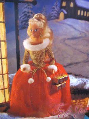 Нарядная кукла Sindy Noel фирмы Hasbro, выпущенная в 1996 году
