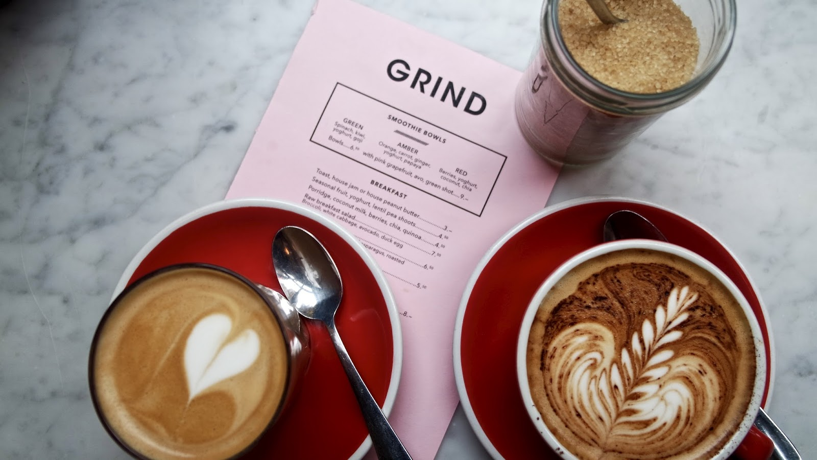 Grind Covent Garden - Five Happy Things