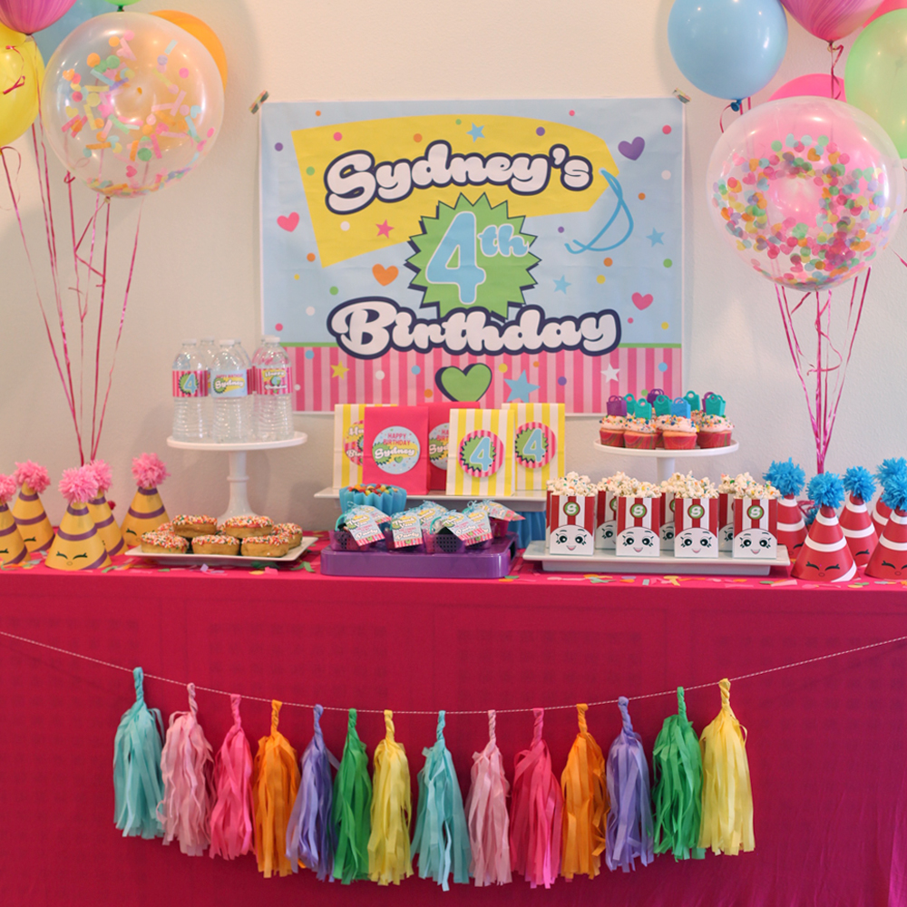 Shopkins birthday party for Ideas for pictures