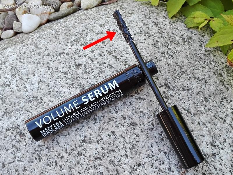 gosh-volume-serum-mascara-tusz-do-rzes-opinie-3w1-blog-szczoteczka-plaska