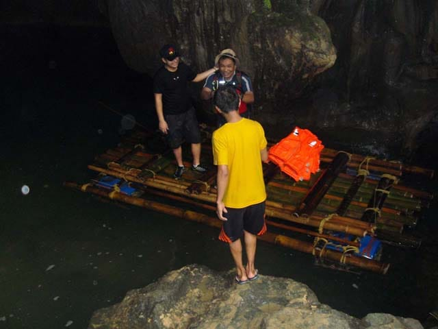 Entrance of the Underground River