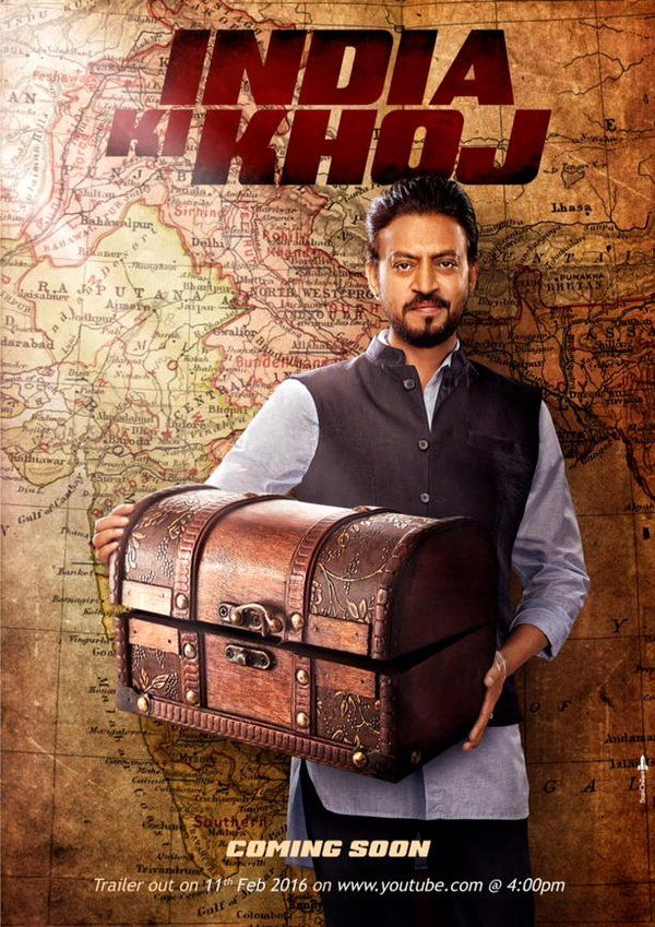 full cast and crew of bollywood movie India Ki Khoj! wiki, story, poster, trailer ft Irrfan Khan