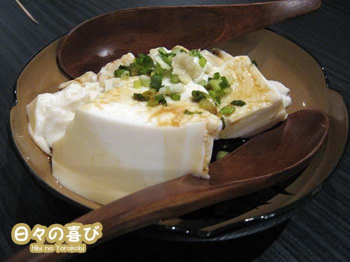 Hiyayakko tofu soyeux