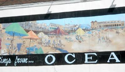 Ocean City New Jersey Wall Mural by Artist David Gilhooley