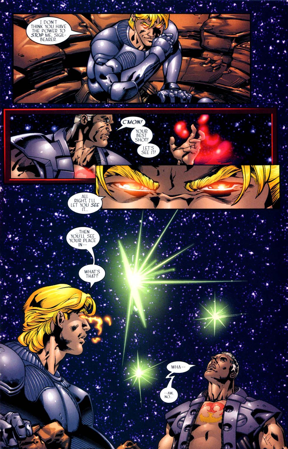 Read online Sigil (2000) comic -  Issue #10 - 21