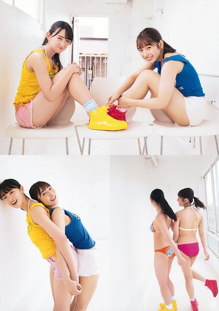 Toyonaga Aki Gravure Fukagawa Mai HKT48 YAM 005
