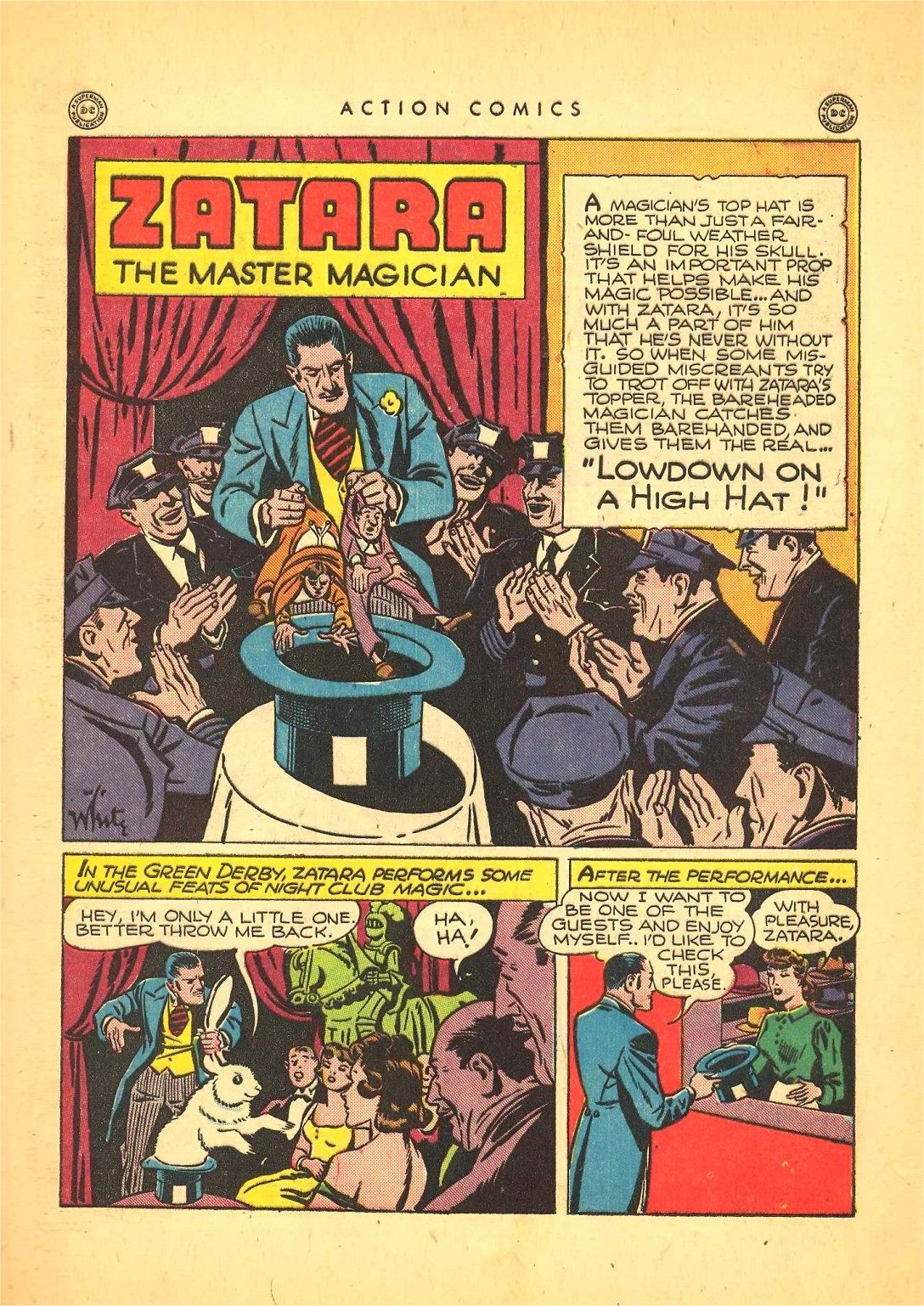 Read online Action Comics (1938) comic -  Issue #92 - 43