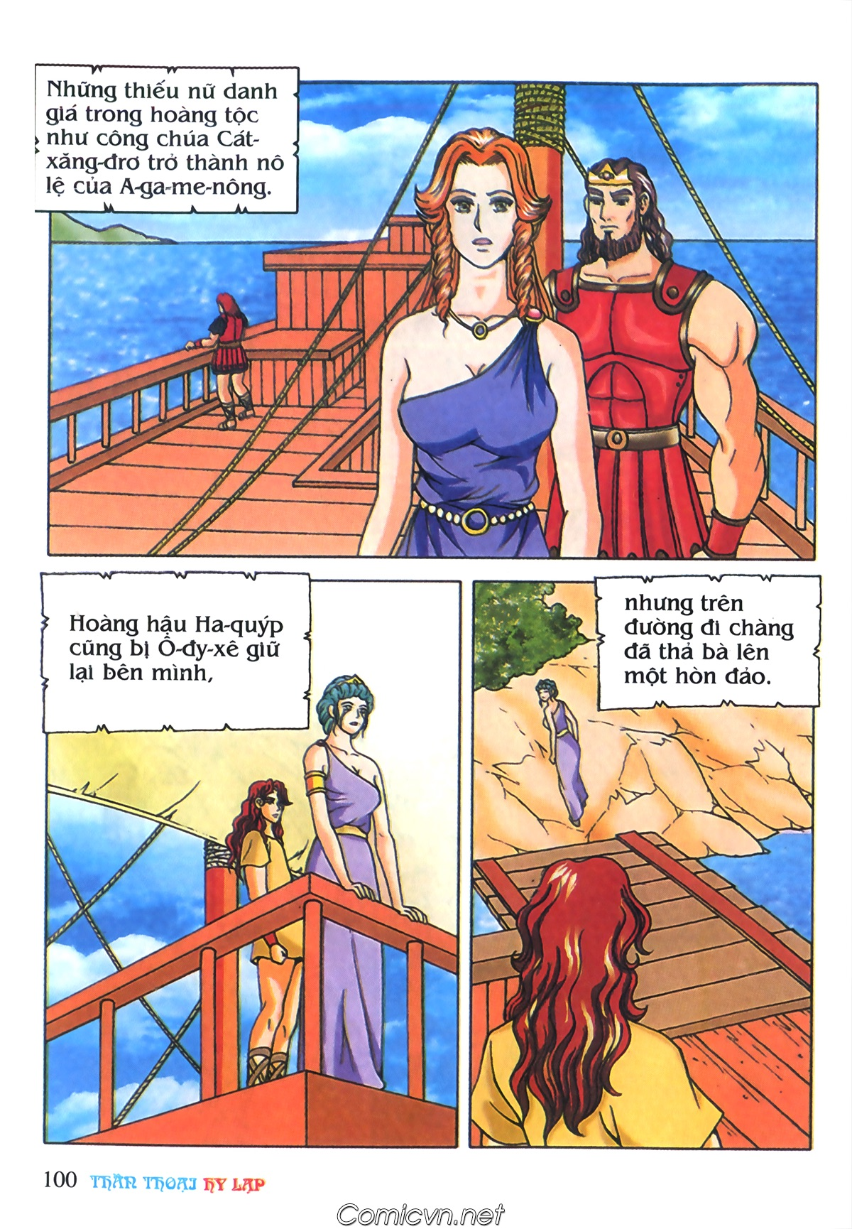 Thần Thoại Hy Lạp Màu - Chapter 69: Thành Troy thất thủ - Pic 30