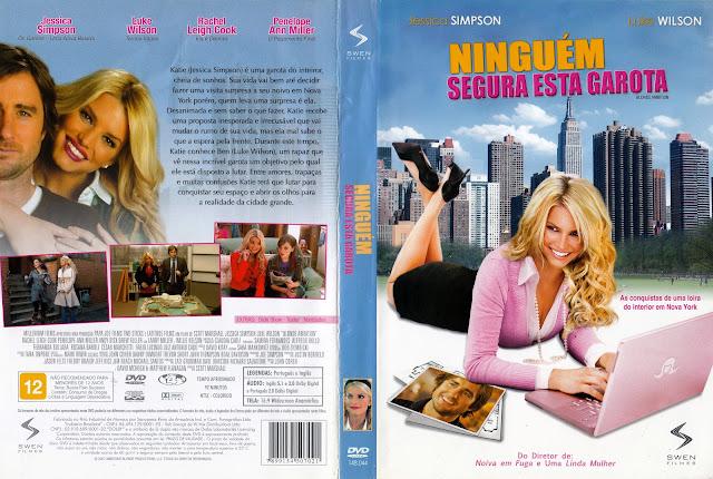 Capa DVD Ninguém Segura Esta Garota (Oficial)