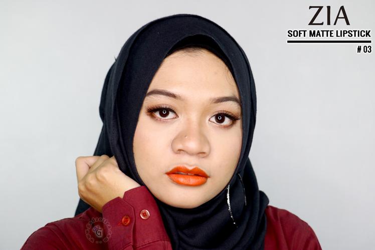 Zia Soft Matte Lipstick 03