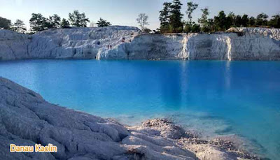 Kaolin lake