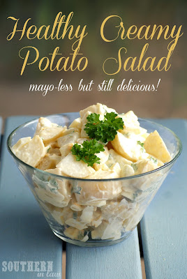 Healthy Creamy Potato Salad