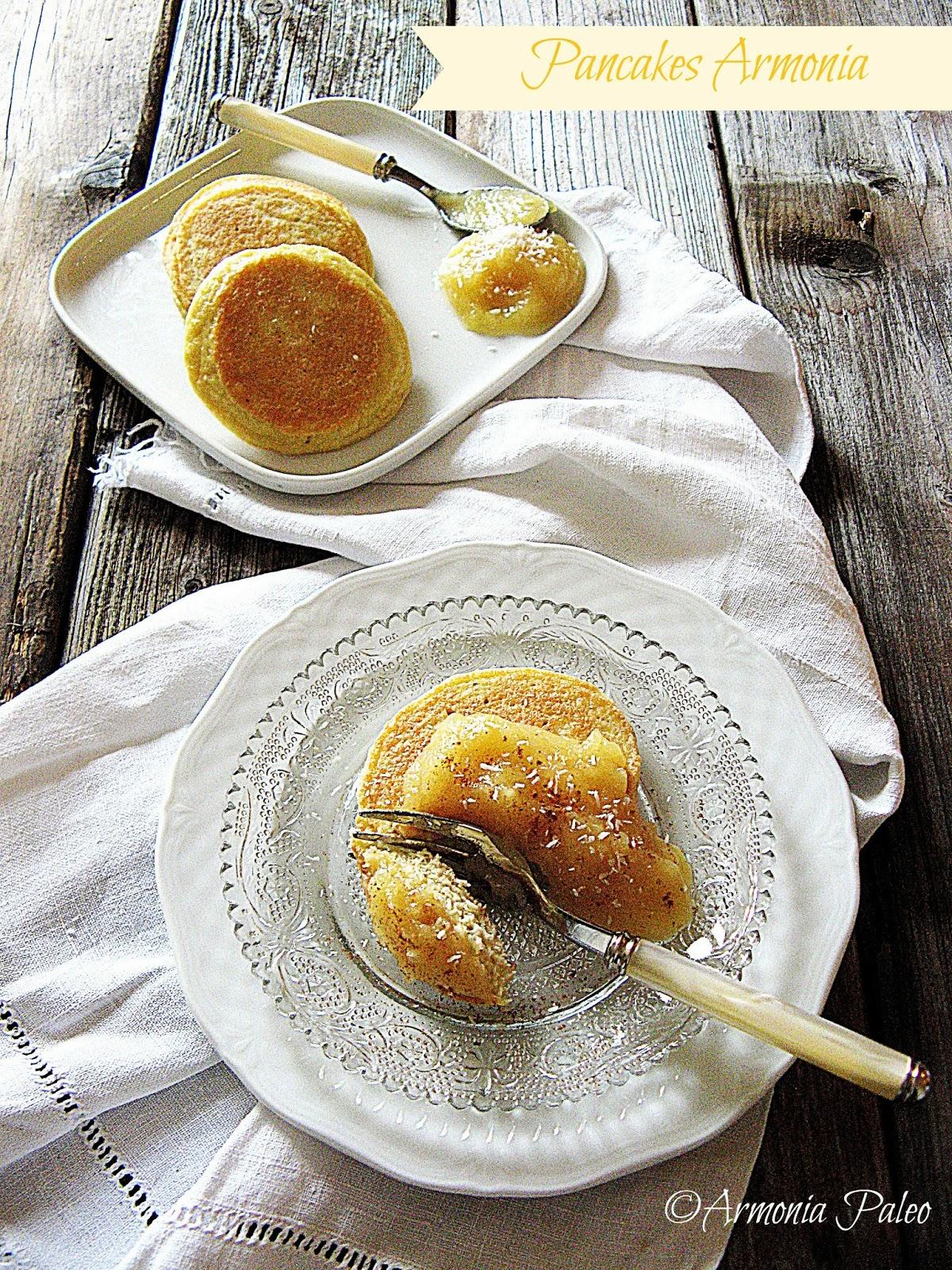 Pancakes Armonia di Armonia Paleo