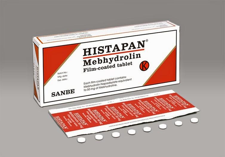 Histapan Tablet, Obat Anti Alergi