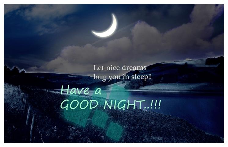MV gfx: GOOD NIGHT GREETINGS !!!