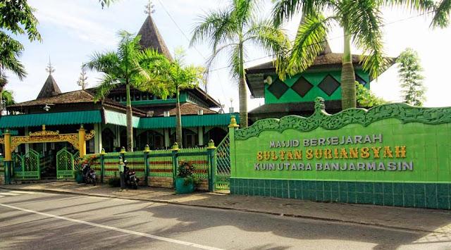 Mesjid yang didirikan Sultan Suriansyah di Kuin