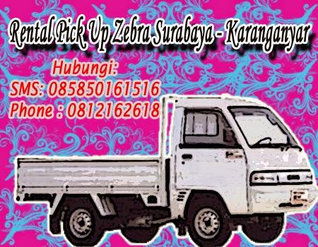 Rental Pick Up Zebra Surabaya - Karangayar