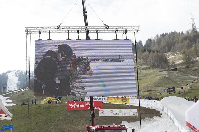 Startgruppe 1 St. Anton beim Start zum legendären Skirennen