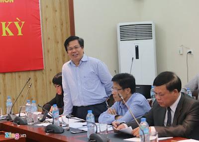 Phó Cục trưởng Cục Chăn nuôi Tống Xuân Chinh. Ảnh: Hiếu Công.