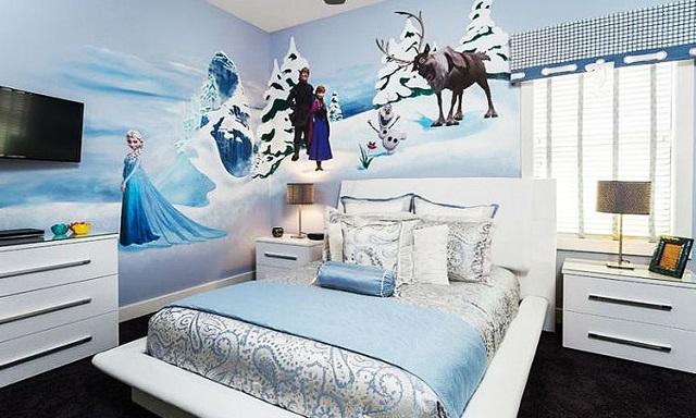 Dormitorios tem ticos de frozen para ni as for Cuartos para ninas frozen