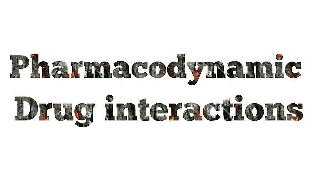 Pharmacodynamic drug Interactions