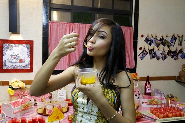 Meu Chá de Panela (Decoração) Roça Mineiro Nitielle Mendes Look Comidas