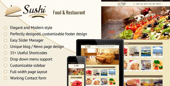 Sushi restaurant food restaurant theme free download sushi restaurant food restaurant theme free download byshoaibinstitutes forumfinder Choice Image