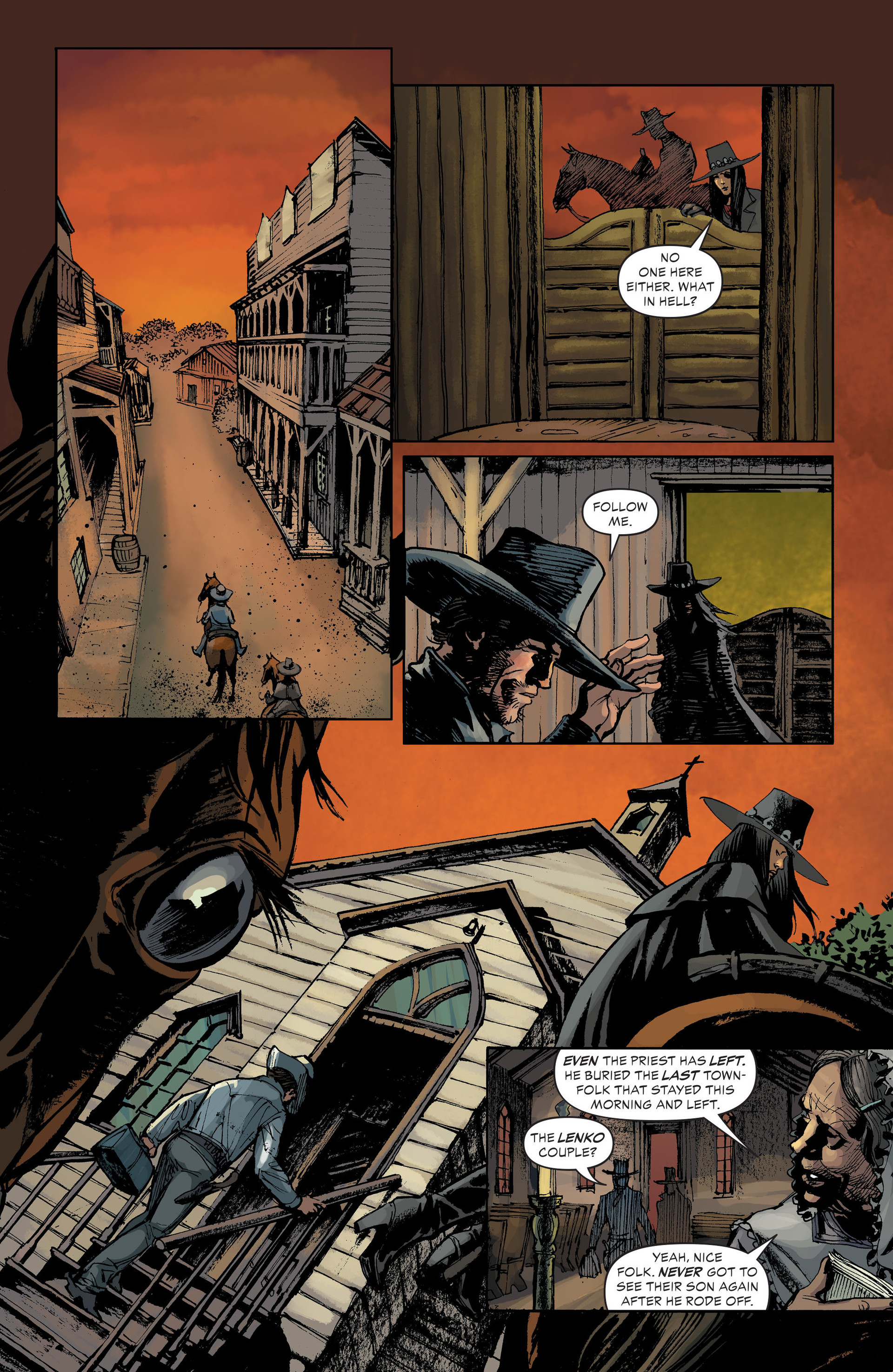 Read online All-Star Western (2011) comic -  Issue #33 - 19