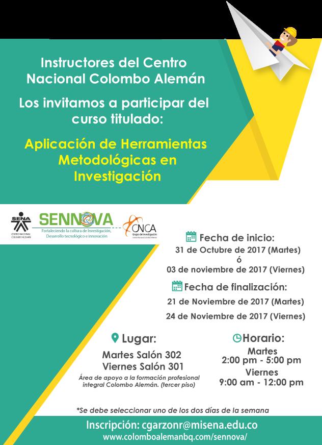 Centro nacional colombo alem n instructores del centro - Centro nacional del vidrio ...