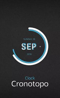Cronotopo Clock Skin Rainmeter