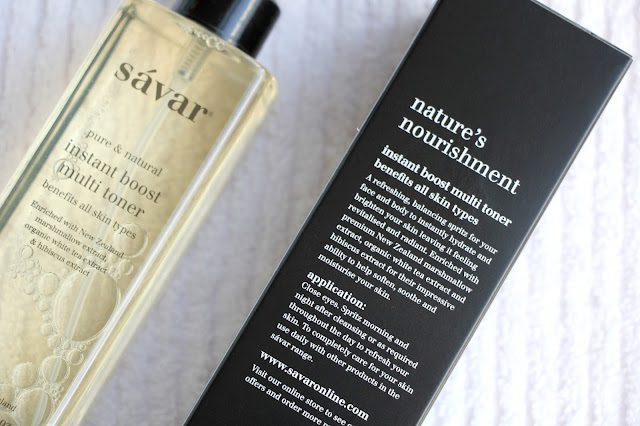 Savar toner review