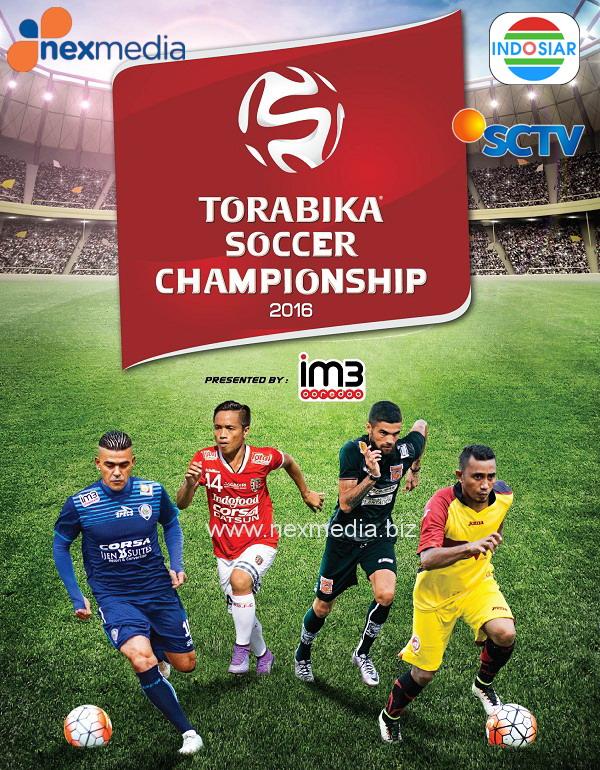 Jadwal pertandingan Torabika Soccer Championship.