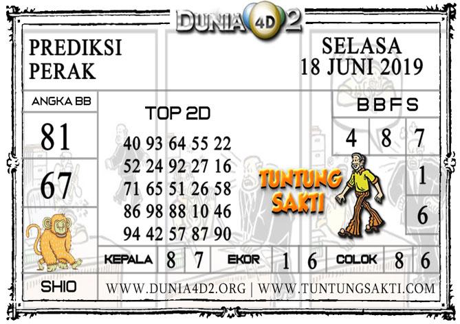"""Prediksi Togel """"PERAK"""" DUNIA4D2 18 JUNI 2019"""