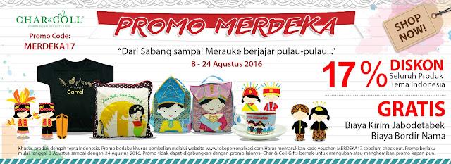 Promo Merdeka! Serbu Diskon 17 Agustus-an di Char and Coll