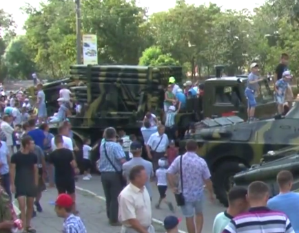 A Forgotten Army: Transnistria unveils new type of multiple rocket launcher