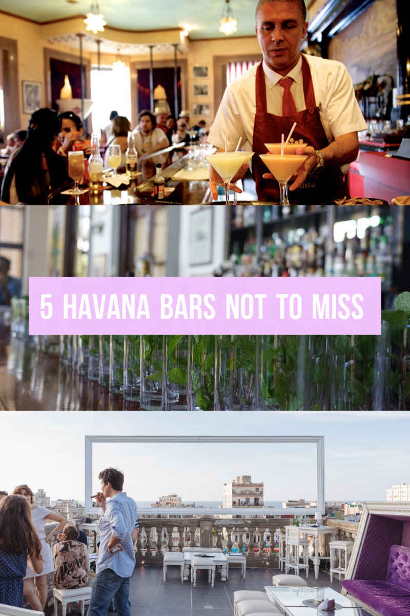 5 Havana Bars Not To Miss