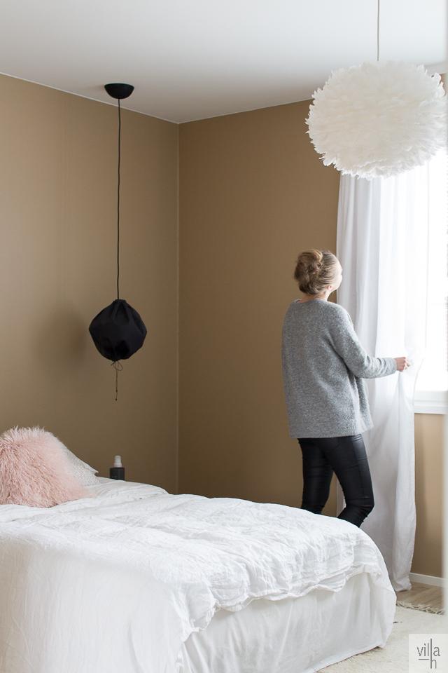 interior, makuuhuone, sisustus,