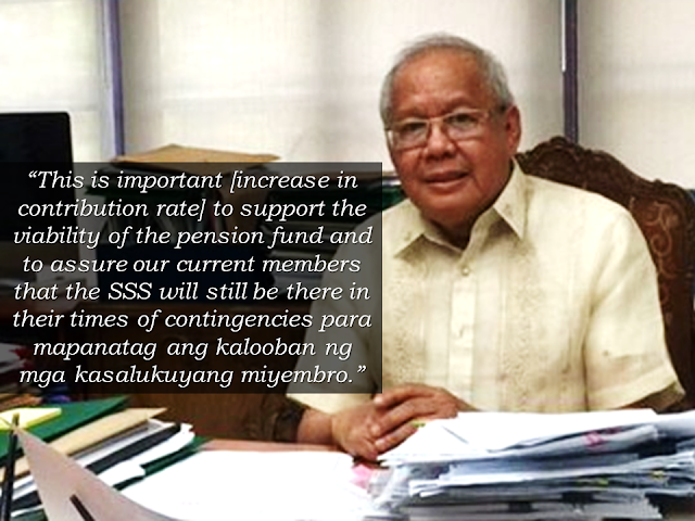 "If the second installment of another P1000 benefit will be released next year without a funding mechanism, government-owned pension fund Social Security System (SSS) will run out of funds in 7 years.    ""Should the second tranche of additional pension be implemented in 2019 without any funding mechanism, the SSS will have a fund life of seven years or until 2026,"" SSS said in a statement.    According to SSS President and CEO Emmanuel Dooc, the SSS fund life significantly dropped from 2042 to 2032 last year, after implementing the first tranche of the additional benefit last year,  Advertisement         Sponsored Links       SSS is still waiting for President Rodrigo Duterte to issue an executive order to release the additional benefit he promised to pensioners in 2016. The second tranche can also be released if the proposed amendment of Republic Act 8282, or Social Security Law of 1997 gets enacted.  ""Our goal here in SSS is to see to it that we are able to release the second tranche [of pension] still within the term of President Duterte, which can be approved in 2022 during his last year in office,"" Dooc said.  He also said that to strongly support the implementation of the second tranche of pension increase, there should be approval of either an increase in contribution rate or adjustment in the minimum and maximum monthly salary credits in SSS.  ""This is important to support the viability of the pension fund and to assure our current members that the SSS will still be there in their times of contingencies para mapanatag ang kalooban ng mga kasalukuyang miyembro [to appease our current members],"" he added.  As of December 2017, SSS has more than 960,000 registered employers and a combined 8.63 million registered voluntary and self-employed members. Some 218,000 or 10 percent of SSS pensioners claimed the additional benefit last year.      READ MORE: It's More Deadly In The Philippines? Tourism Ad In New York, Vandalized    Earn While Helping Your Friends Get Their Loan      List of Philippine Embassies And Consulates Around The World    Deployment Ban In Kuwait To Be Lifted Only If OFWs Are 100% Protected —Cayetano    Why OFWs From Kuwait Afraid Of Coming Home?   How to Avail Auto, Salary And Home Loan From Union Bank"
