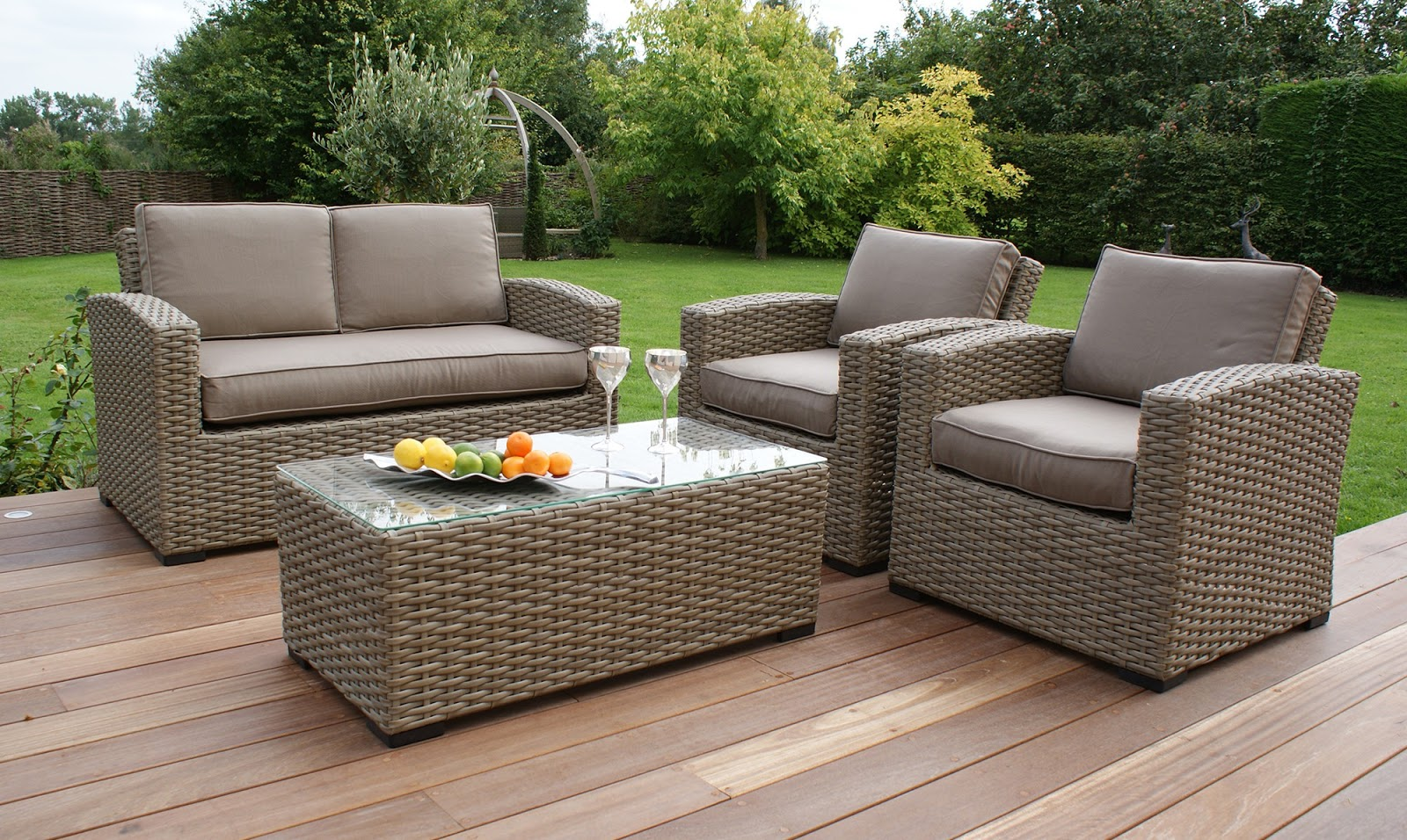 Rattan Garden Furniture & Plastic Rattan Furniture - 1 ...